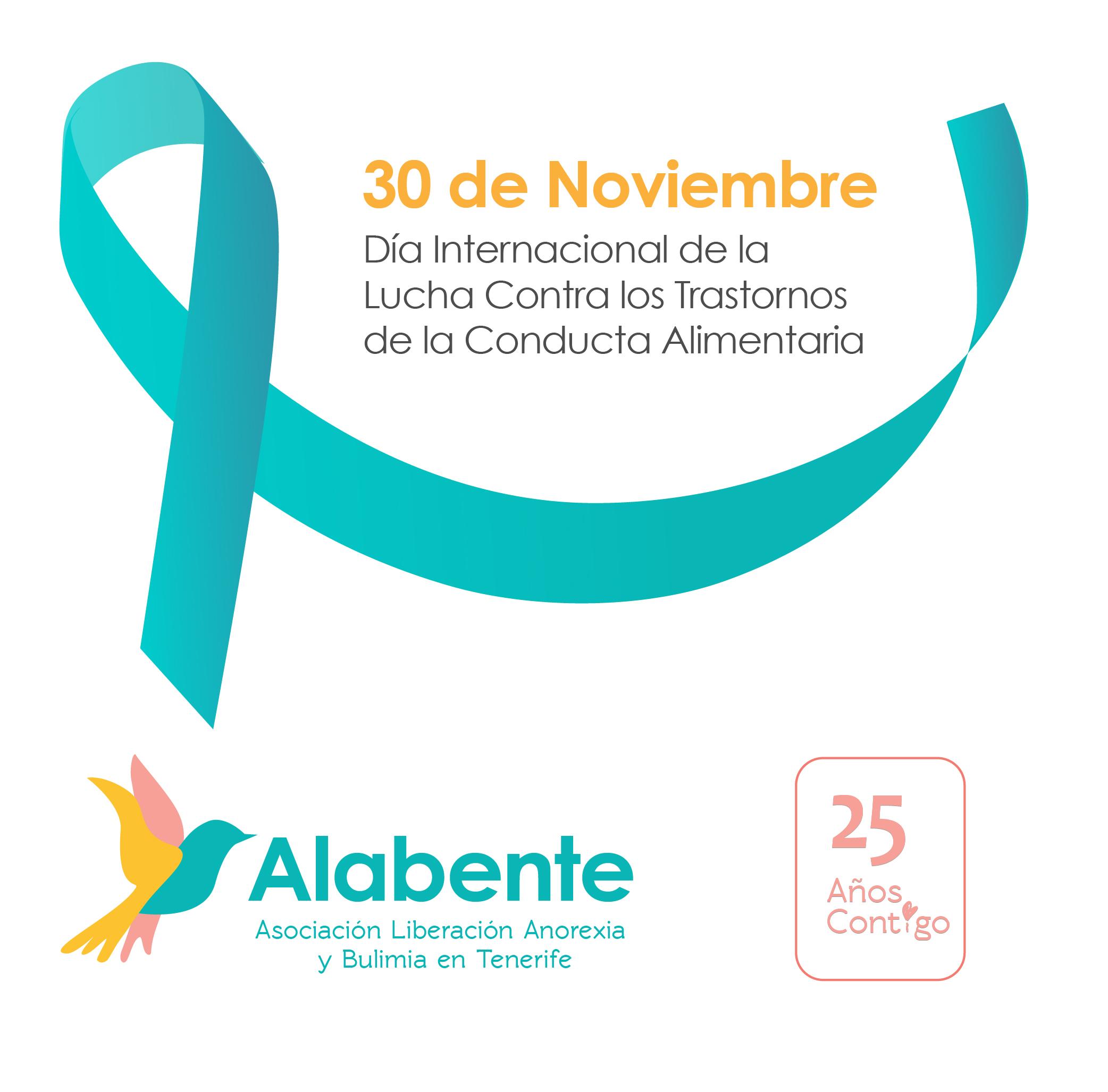 30 de noviembre: Día Internacional de la Lucha Contra los Trastornos de la Conducta Alimentaria.